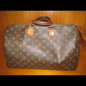Authentic used Louis Vuitton speedy 40